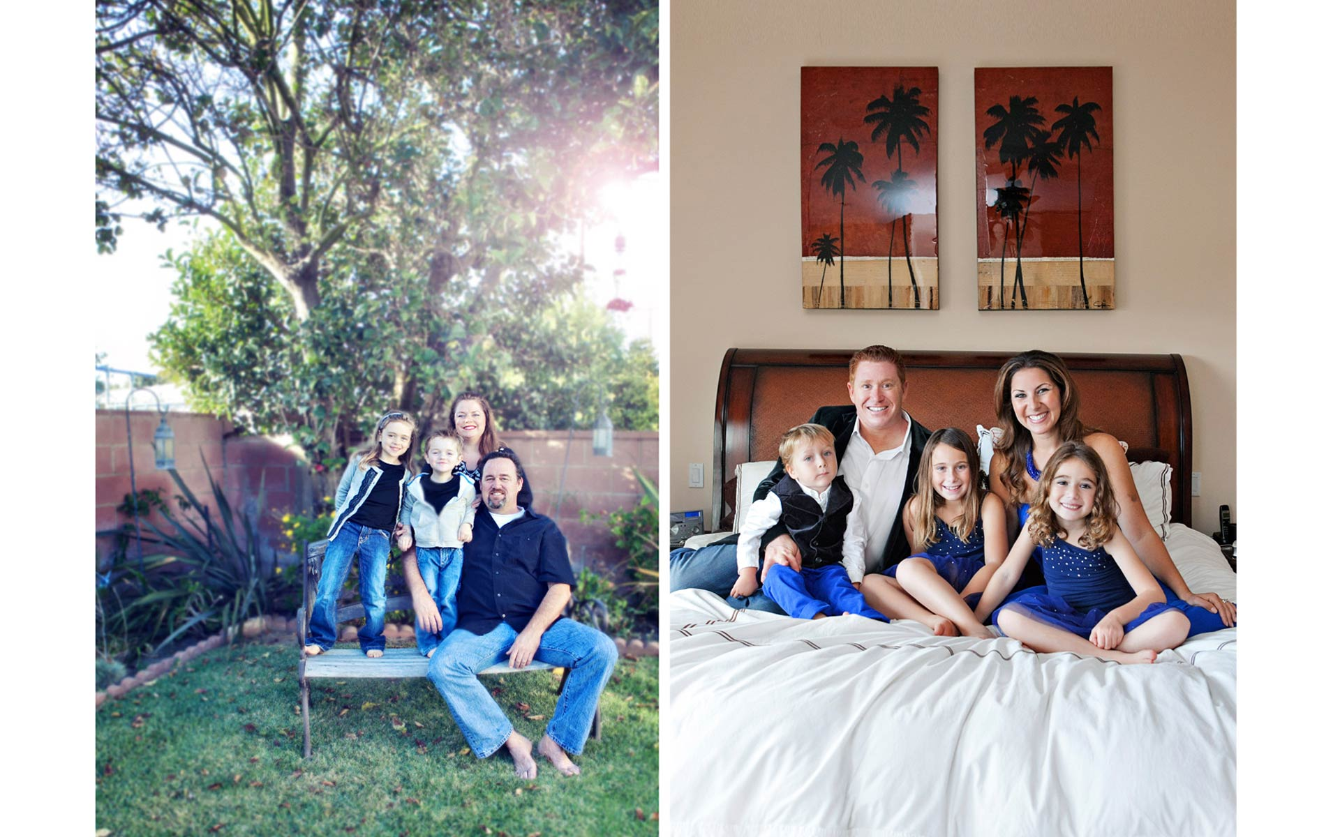 Rose Pierce Just Add Color Families. Redondo Beach Family Photography